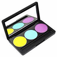 Набор теней для век 3 цвета Beauties Factory Eyeshadow Palette #20 - FRESH WATER