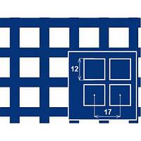 Лист перфорированный с квадратными отверстиями 12*12 шаг 17 толщина 2,0 мм размер 1*2 метра от Гост Метал