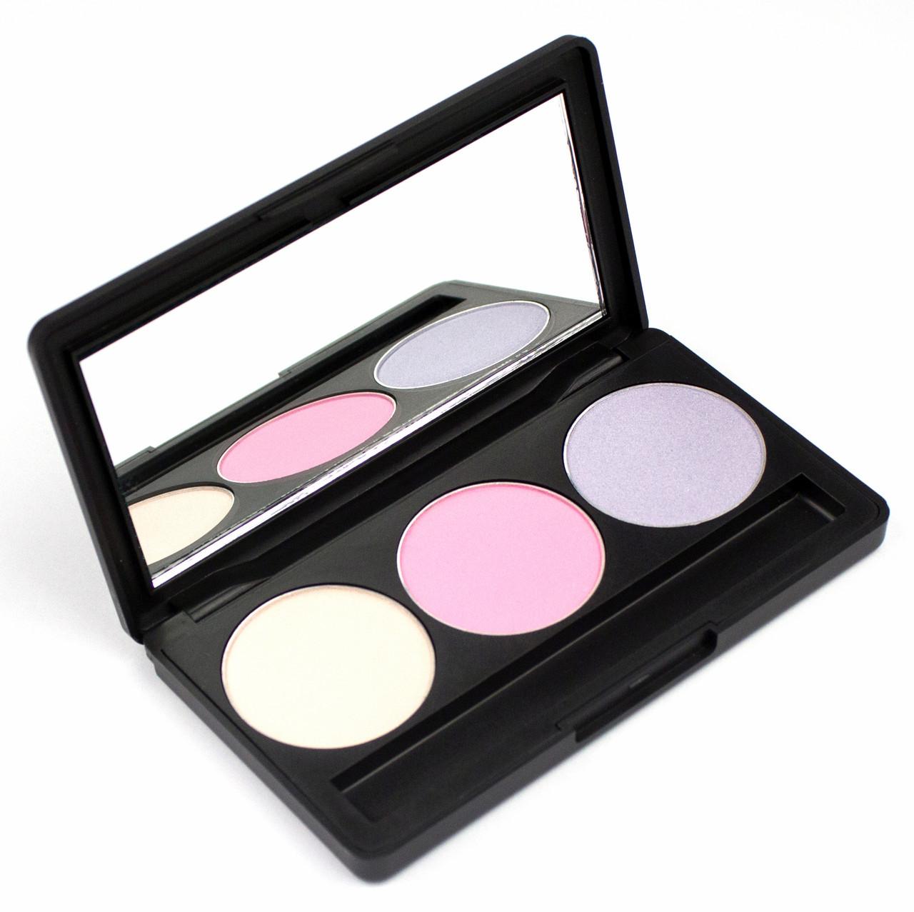 Набор теней для век 3 цвета Beauties Factory Eyeshadow Palette #17 - PERKY LUCY