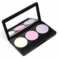 Набор теней для век 3 цвета Beauties Factory Eyeshadow Palette #17 - PERKY LUCY, фото 1