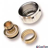 Резьбовое соединение WATTS 17-2 х 3/4 латунное для труб из поперечносшитого полиэтилена и металлопластиковых труб