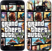"Чехол на Samsung Galaxy S7 G930F GTA 5. Collage ""630c-106-481"""