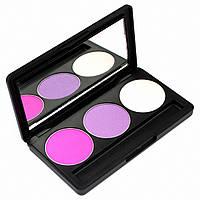 Набор теней для век 3 цвета Beauties Factory Eyeshadow Palette #25 - GIRLIE PINK