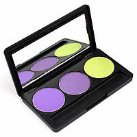 Набор теней для век 3 цвета Beauties Factory Eyeshadow Palette #18 - NEW YORK NIGHT
