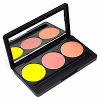 Набор теней для век 3 цвета Beauties Factory Eyeshadow Palette #14 - MICKEY, фото 1