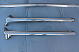Карбоновая окантовка лобового стекла на Mercedes G-Сlass W-463, фото 7