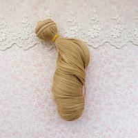 Волосы для кукол локоны волны в трессах,  светло-русый  - 15 см