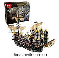 """Конструктор Lepin 16042 (аналог Lego Pirates of the Caribbean 71042) """"Безмолвная Мэри"""", 2344 дет"""
