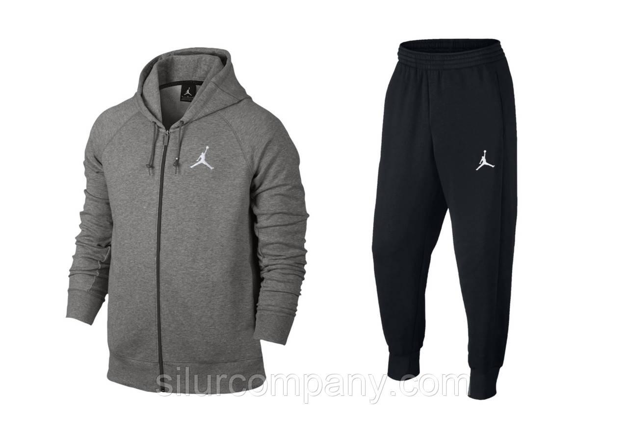 130ad6a7 Мужской спортивный костюм Джордан серый - Интернет магазин