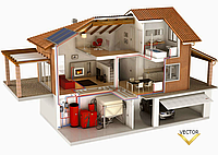 Монтаж систем отопления, водоснабжения, сантехники.