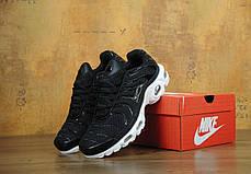 Кроссовки мужские Найк Nike Air Max TN Black/White. ТОП Реплика ААА класса., фото 3