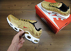 Кроссовки мужские Найк Nike Air Max TN Gold. ТОП Реплика ААА класса., фото 2
