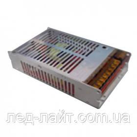 Блок питания компактный 12В 16,5А 200Вт DC в перфорированном корпусе