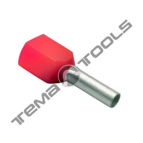 Наконечники втулочные с изоляцией для двух проводов ТЕ 1.5-8 - Tema Tools в Харькове