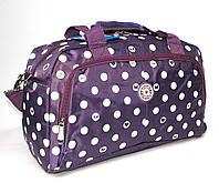 Сумка дорожная (40*27*20 см) ELENFANCY фиолетовая, фото 1