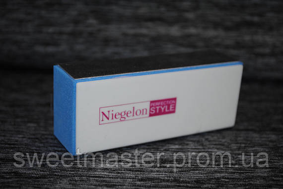 Полировка для ногтей (баф) Niegelon 4-х сторонняя белая