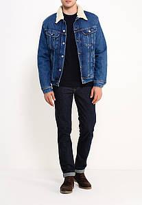 Куртка мужская джинсовая Lee на меховой подкладке .