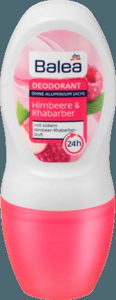 Дезодорант роликовый Balea Himbeere & rhabarber 24hr 50 ml (Германия)