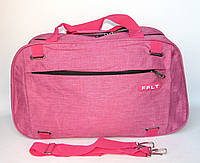 Сумка дорожная (50*32*18 см) FFLT розовая