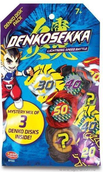 Игрушка Набор дисков Denko Sekka, 87001-DS
