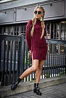 Женские вязаные платья, фото 1