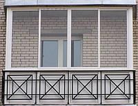 Кованые и сварные балконы ОБ-35