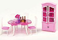 """Мебель для кукол Gloria 24011""""Столовая"""""""