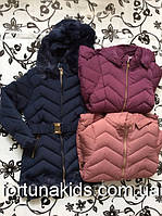 Пальто зимнее  для девочек TAURUS 8-16 лет