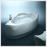Ванна акриловая асимметричная Cersanit KALIOPE Calabria 170X 110 см левая / правая