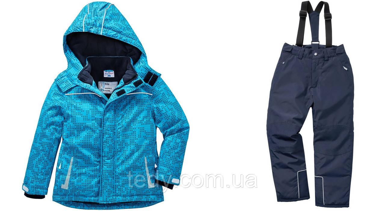 ТЕРМОкомбинезон TOPOLINO - это самый тёплый из всего модельного ряда голубой+синий