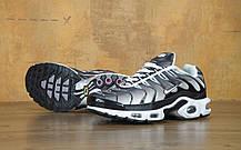 Кроссовки мужские Найк Nike Air Max TN Black/White/Grey . ТОП Реплика ААА класса., фото 2