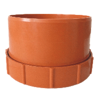 Заглушка канализационная внешняя ревизионная 160 мм Mplast