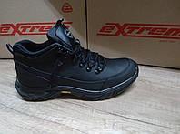 Мужские ботинки зимние из натуральной кожи EXTREME 1080