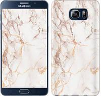 "Чехол на Samsung Galaxy Note 5 N920C Белый мрамор ""3847u-127-481"""