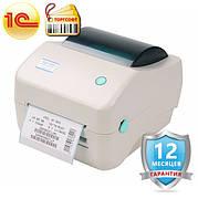 Термопринтер для печати этикеток Xprinter XP-450B (с отслаиванием этикеток)