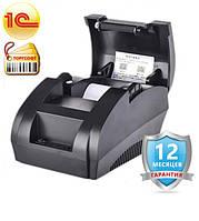 Принтер чеков 58 мм usb подключение, Термопринтер JP-5890k, фото 1