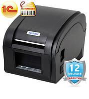 Принтер этикеток/бирок/цеников Xprinter 360B usb  Pos принтер для печати чека, ценников, штрих кодов
