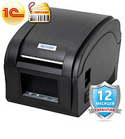Принтер этикеток/бирок/цеников Xprinter 360B usb  Pos принтер для печати чека, ценников, штрих кодов, фото 1