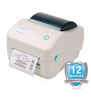 Термопринтер для печати этикеток Xprinter XP-450B (с отслаиванием этикеток), фото 1