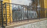 Кованые и сварные балконы ОБ-40