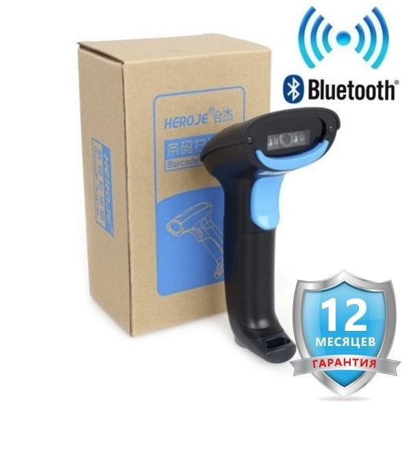 Bluetooth сканер штрих кода HERO JE H220B для телефона, планшета, ноутбука и т.п., фото 1
