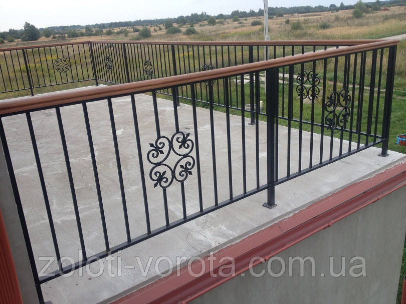 Кованые и сварные балконы ОБ-45