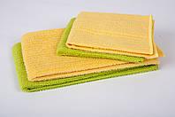 Набор полотенец для кухни Zastelli 4 шт (30*30 - 2 шт, 40*48 - 2 шт) желтый + салатовый