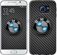"Чехол на Samsung Galaxy S6 G920 BMW. Logo v3 ""3109c-80-481"""