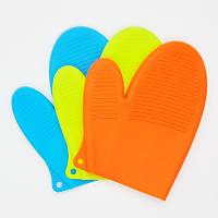 Силиконовая рукавица, прихватка 21*15 см