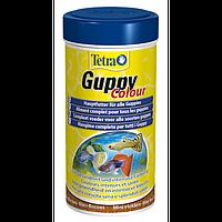 Корм Tetra Guppy Colour для гуппи в хлопьях, усиление окраса, 100 мл