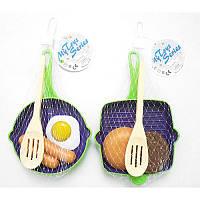 Посуда P2811 сковородка, лопатка, продукты