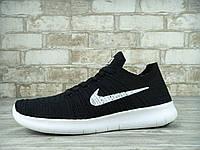 Мужские беговые кроссовки Nike Free Run Black
