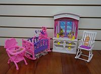 """Мебель для кукол Gloria 24022 """"Детская комната"""""""