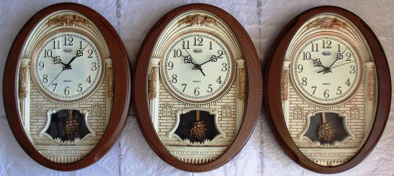 Часы настенные R*L  для дома и офиса RL-M814 sound